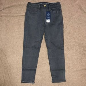 American eagle jegging crop size 4